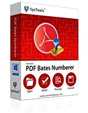 SysTools PDF Bates Numberer (Email Delivery-No CD)