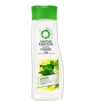 Herbal Essences Champú claramente desnudo (0%) brillo 400 ml