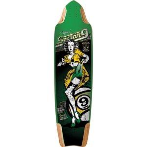 Sector 9 Tiffany Skateboard Deck, Assorted, 10.0 x (Sector 9 Longboards Deck)