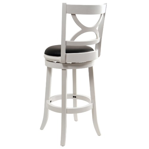 """Florence 29"""" Bar Stool in White"""