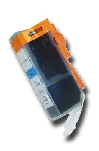 1 Chipped Cyan (Blue) Compatible Canon Pixma CLI-526C Ink Cartridge for Canon Pixma MG5150 Printer