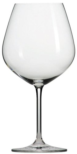 Crystal Lead Glass Wine (Schott Zwiesel Tritan Crystal Glass Forte Stemware Collection Claret Burgundy Red Wine Glass, 25-Ounce, Set of 6)
