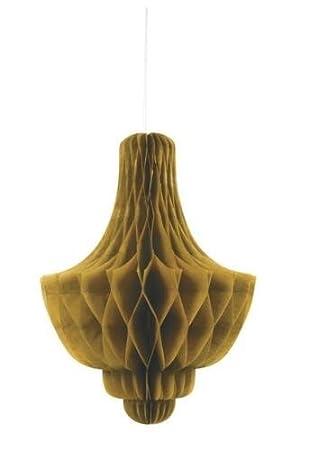 Gold Papier Wabe 14 U0026quot; Kronleuchter Dekoration