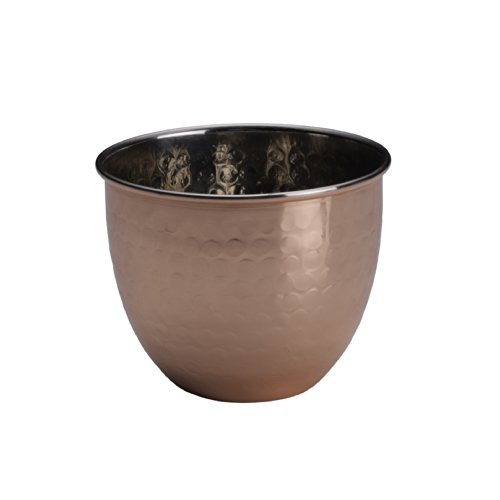Jefferson Cup - Mikasa Solid Copper Hammered Jefferson Cup, 9-Ounce