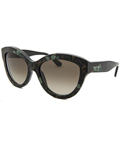 Valentino Women's Sunglasses, Camo Butterfly Army Green, - Round Valentino Sunglasses Women's