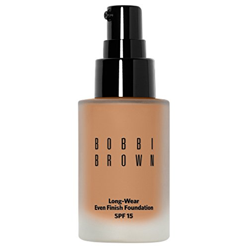 Bobbi Brown Long Wear Even Finish Foundation SPF 15, 4.5 Warm Natural, 1 Ounce