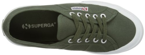 Classic Adulte green Superga 2750 Vert Mixte 102 Cotu Sherwood Baskets EXXapqA