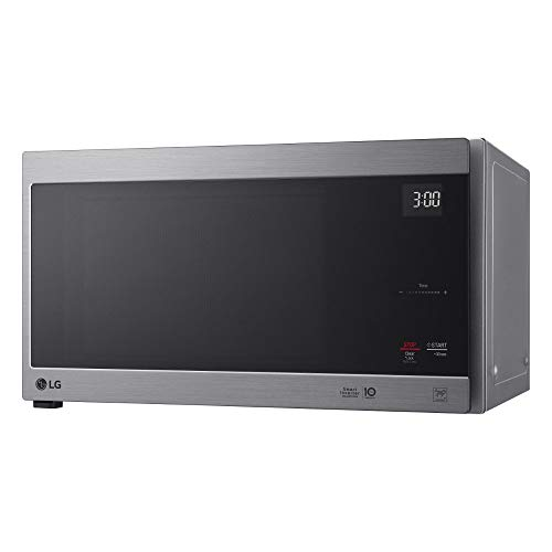 LG LMC1575AST 1.5 Cu. Ft. Neochef Countertop Microwave Oven 20″ x 12″ x 16″ Stainless Steel (Renewed)