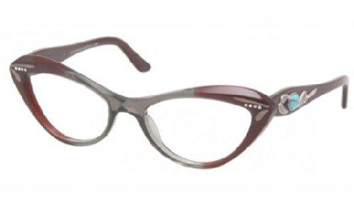 Eyeglasses Bvlgari BV4052B 5210 TR GRAY/PLUM DEMO LENS