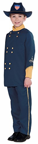 Children Civil War Soldier Halloween Costumes - Forum Novelties Union Officer Child's Costume,