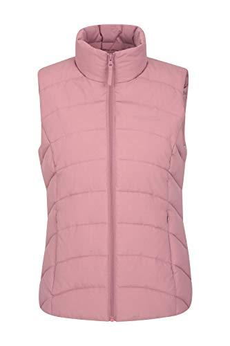 Mountain Warehouse Opal Womens Padded Gilet – Lightweight Ladies Body Warmer, Water Resistant Sleeveless Jacket…