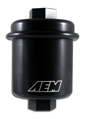 AEM 25-200BK Black High Volume Fuel Filter
