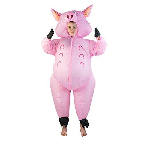 Bodysocks Kids Inflatable Pig Fancy Dress Costume