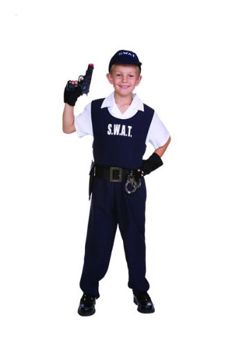 Swat Costume S W A T (S.W.A.T. Officer Kids Costume)