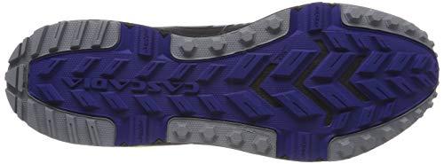 Nero blue 004 nightlife Brooks Sportive Uomo Scarpe black 13 Cascadia xq8Xp
