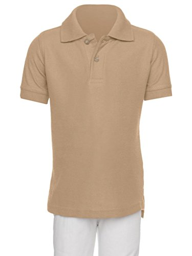 AKA Boys Wrinkle-Free Polo Shirt - Short ()
