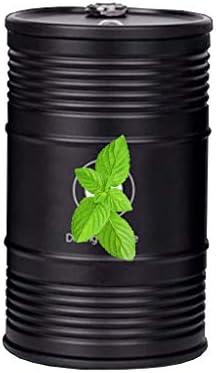 ふた付き車の灰皿、BMWとの互換性、アルミニウム合金so貯蔵タンク洗える軽い旅行 (Color : 黒)