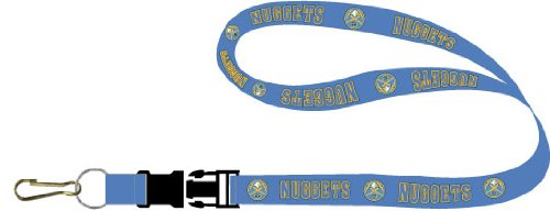 aminco NBA Denver Nuggets NBA-LN-095-17 Lanyards, One Size, Team Colors from aminco