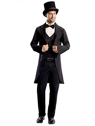 Rubie's Costume Disney's Oz The Great and Powerful Adult Oscar Diggs, Black/White, Standard Costume -