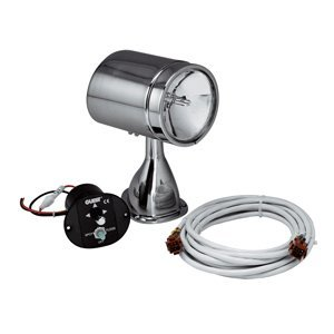 Guest 22040A Stainless Steel Marine 5-Inch Spotlight/Floodlight Kit with Remote Control Joystick (12-Volt, 7-Amps, 72000-CP)