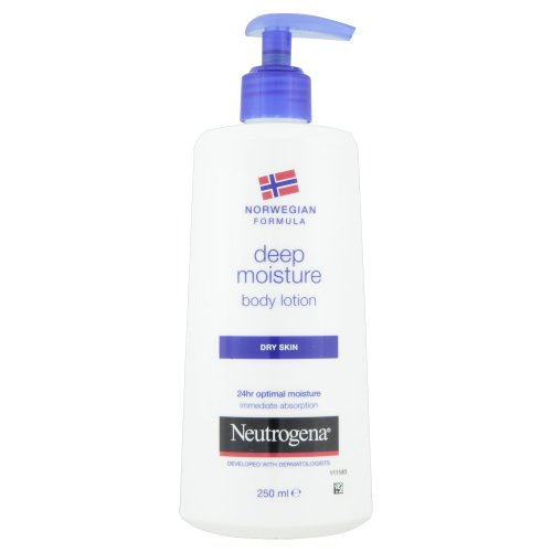 Neutrogena Norwegian Formula Deep Moisture Body Lotion For Dry Skin 250Ml