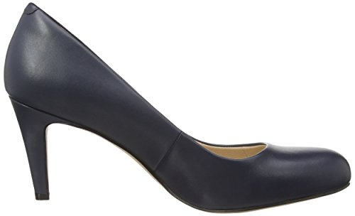 Damen Blau Carlita Pumps Cove Clarks Leather Navy dxqIBd5w