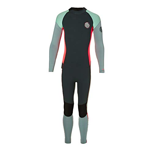 Rip Curl Junior Girl Dawn Patrol 3/2mm 2017 Back Zip Wetsuit Age 11-12 ()