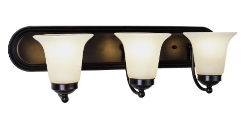 Bel Air Vanity Light - Trans Globe Lighting 3503 ROB Indoor  Rusty 24