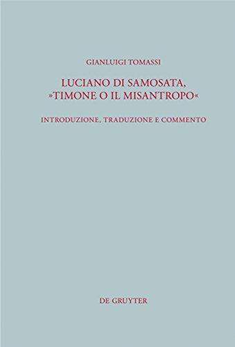 """Luciano di Samosata, """"Timone o il misantropo"""": Introduzione, for sale  Delivered anywhere in USA"""