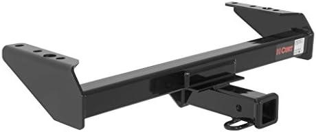 CURT トレーラーヒッチ 配線&1 7/8インチ ボールマウント 4インチのドロップ付き フォードF-250 F-350用