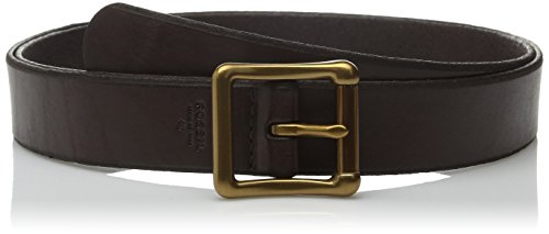 Fossil Women's Modern Roller Buckle Belt, Espresso, Small