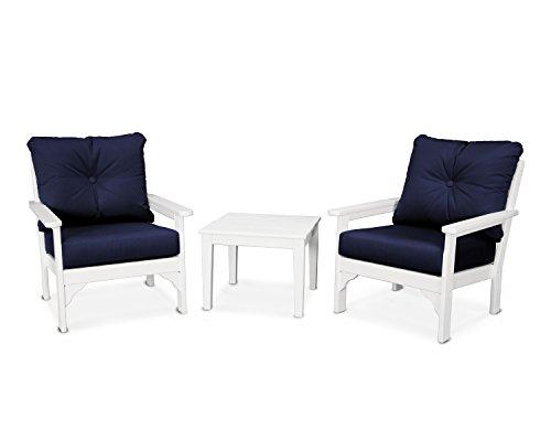 POLYWOOD Vineyard 3-Piece Deep Seating Set ()