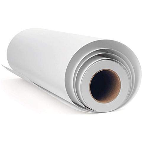 (Self-Adhesive Polyester Canvas Rolls for Wallpaper Used for ECO-Solvent Ink Printers 340GSM 44