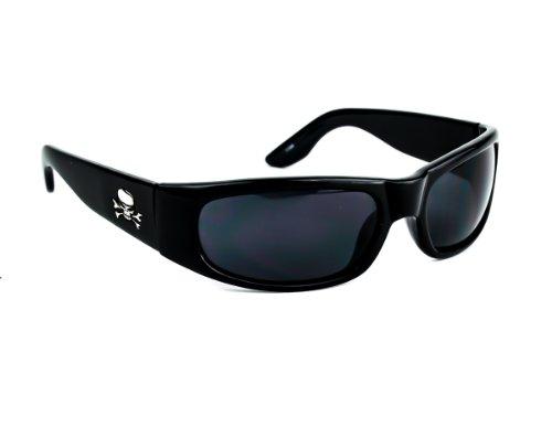 Skull Sunglasses Black Frames - 9