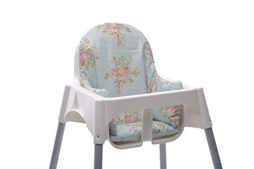 Cuscino Per Computer Ikea.Ikea Antilop Highchair Cushion Easy To Fit And Fully Wipe Clean Also Fits Ikea Blanes And Bebe Style 2 In 1 Classic High Chairs Floral