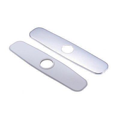 Danze DA665051 Single Hole Mount Faucet Cover Plate, 8-Inch, Chrome