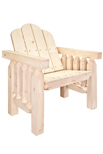 Montana Woodworks Homestead Collection Deck Chair, Ready ...