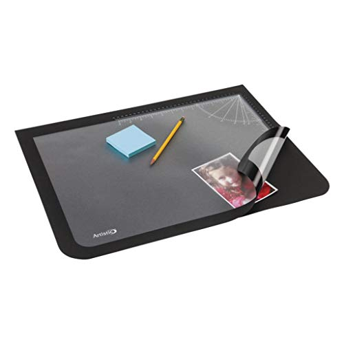 AOP41100S - Description : Rectangular Pad - Artistic Logo Pad Desktop Organizer - Each