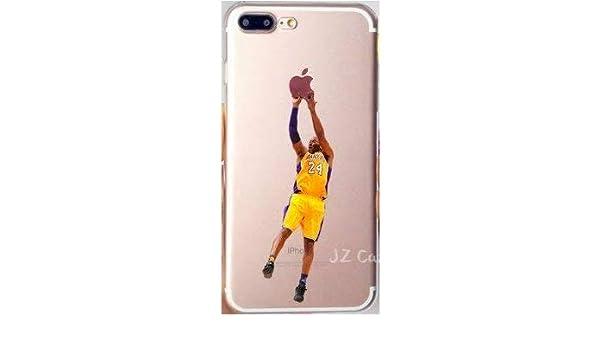 ArtCase Funda para iPhone 7 et iPhone 8 NBA Basketball Kobe Bryant ...