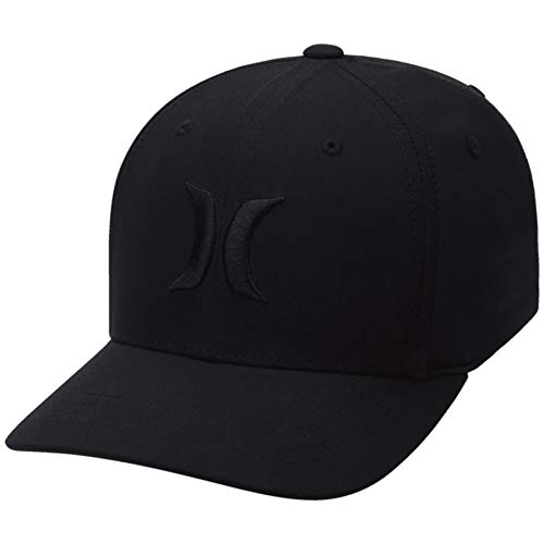 Hurley AO4101 Men's Dri-Fit One and Only Hat, Black/Black - OS