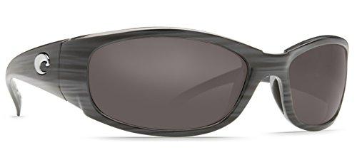 Costa Del Mar Hammerhead Sunglasses , Silver Teak/Gray Mirror - Costa Hammerhead
