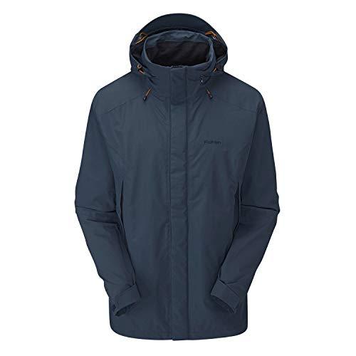 Rohan Men's Ascent Waterproof Jacket Dark Petrol Extra Extra Large ()