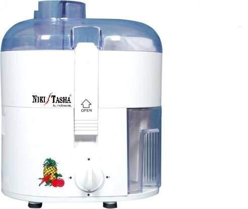 NIKI TASHA 400 Watts Electric Juicer Extractor _ WHITE