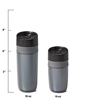 10 oz OXO 11148600 Good Grips Mini Travel Mug Graphite