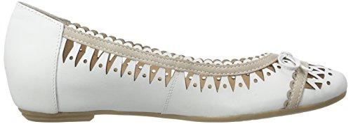 Caprice 22118 - Bailarinas Mujer Blanco (blanco comb 197)