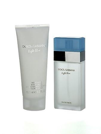 93fb46a4 D & G Dolce & Gabbana Light Blue Pour Femme Gift Set (Eau De Toilette