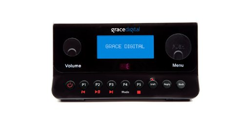 Grace Digital Wireless Internet Radio Adapter Featuring Pandora and SIRIUS (GDI-IRA500)