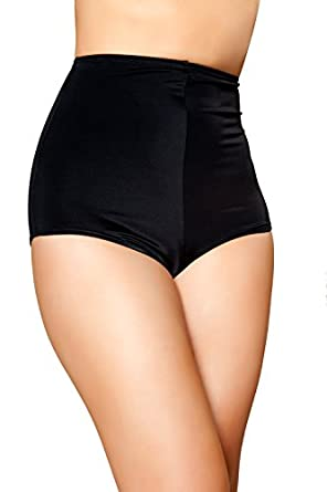 Amazon.com: Roma Costume Women's Pinup Style High-Waisted Shorts ...