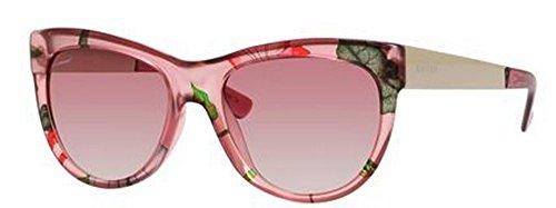 Gucci Sunglasses - 3739 / Frame: Pink Floral Gold Lens: Pink