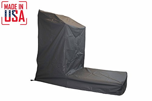 THE BEST Non-Folding Treadmill Protective Cover. Heavy Duty and Water-Resistant Fitness Equipment Fabric Ideal For Indoor Or Outdoor use. Made in USA with 3-Year Warranty. (Gray, Extra Large)